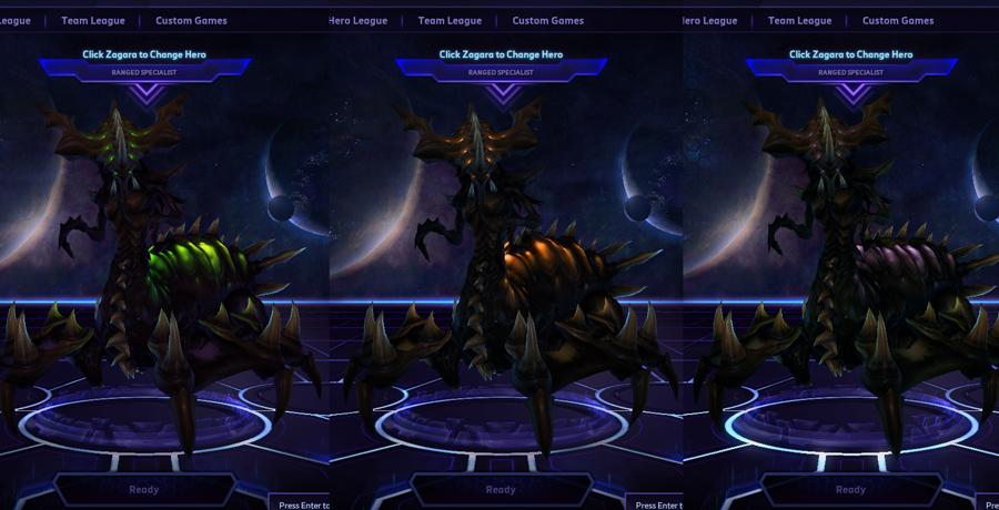 heroes storm Zagara skins default