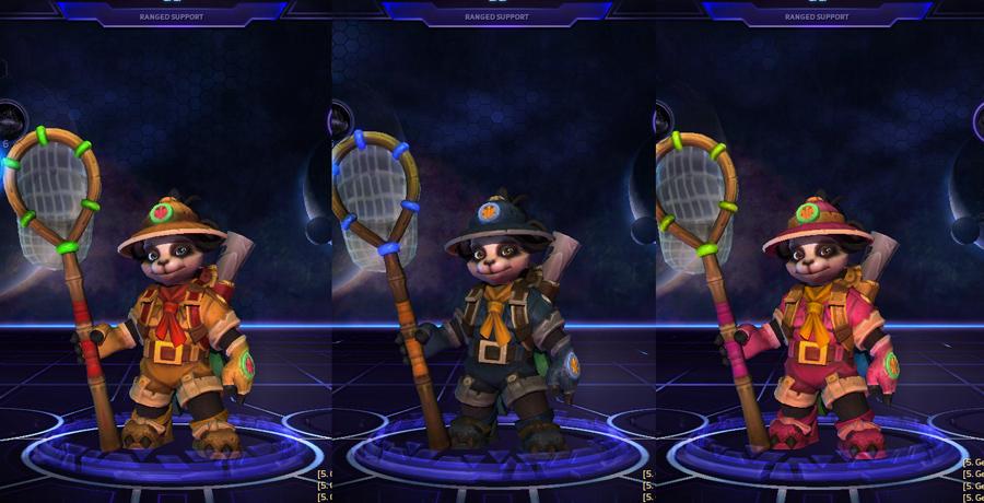 heroes storm li li skins explorer