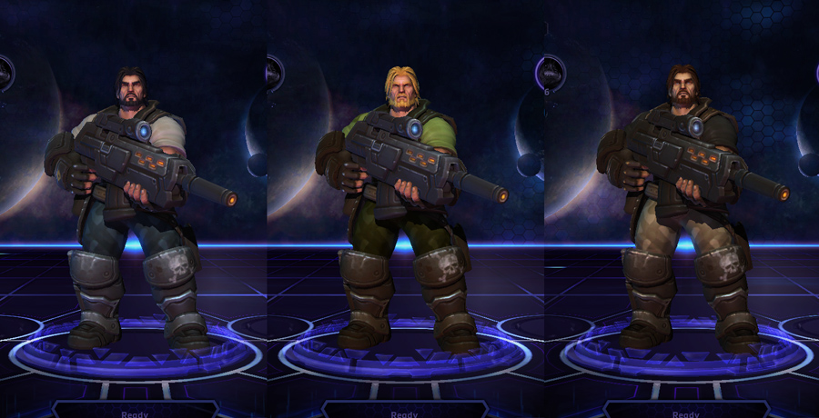 heroes storm raynor skins commander