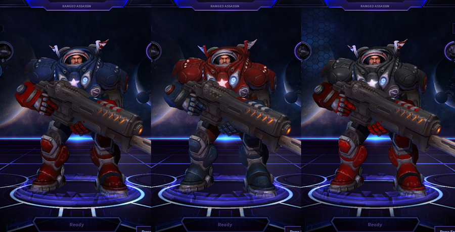 heroes storm raynor skins stars and stripes