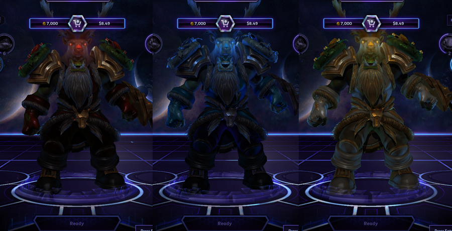 heroes storm rehgar skins great-father winter