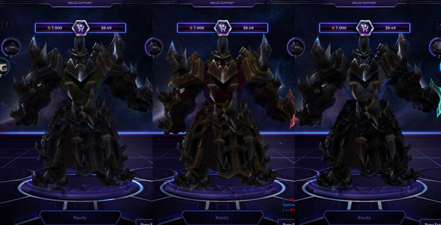 heroes storm rehgar skins ironclaw