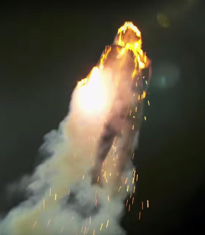 human torch drone fantastic four movie stunt 001