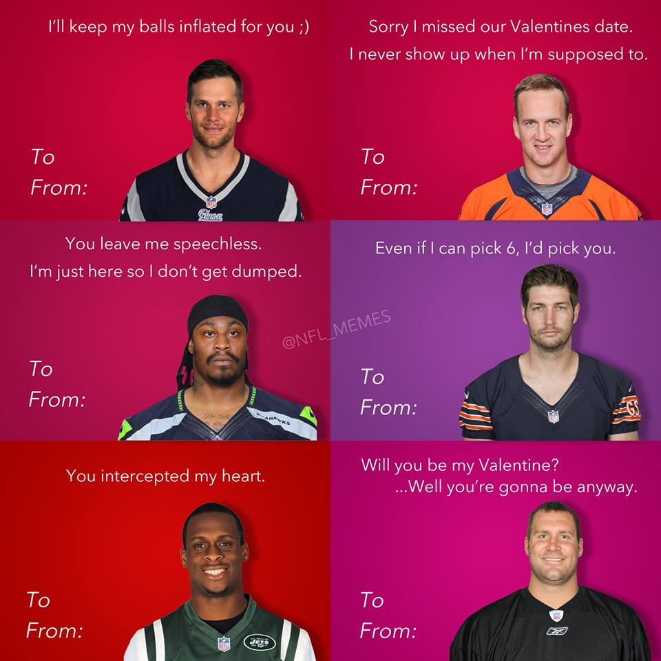 football meme 006 valentine cards