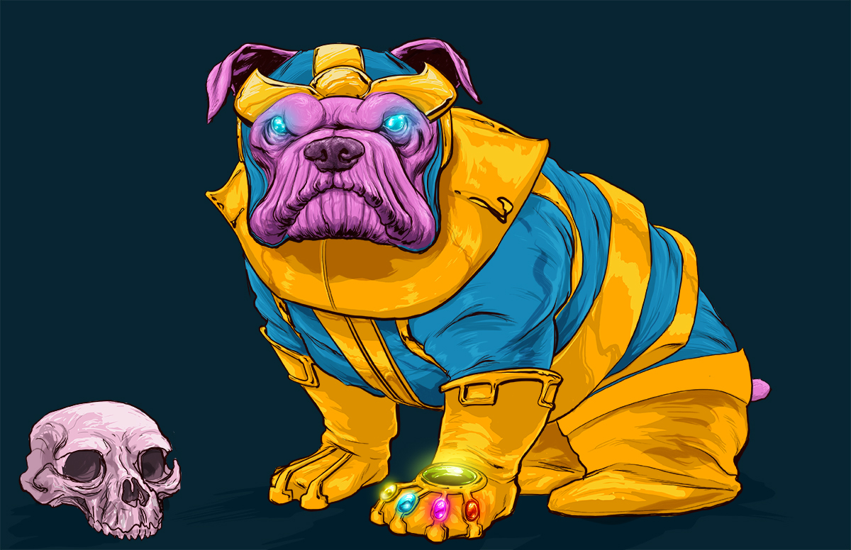 josh lynch marvel dogs 016 thanos