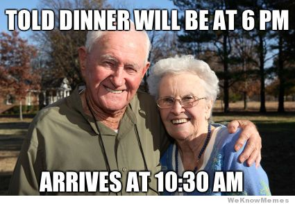 thanksgiving meme 008 grandparents arrive at 1030