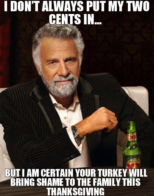 thanksgiving meme 009 your turkey will bring shame