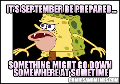 spongegar memes 010 prepare september alert somewhere something sometime