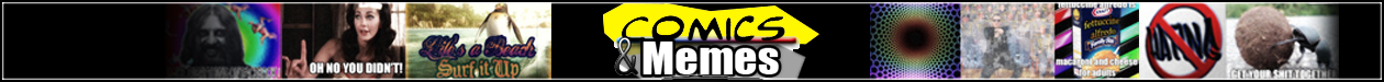 Comics and Memes Website