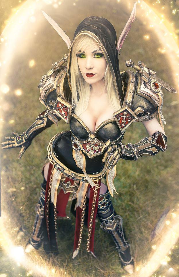 Gamer Cosplay 014 Danielle Beaulieu as Blood Elf WoW