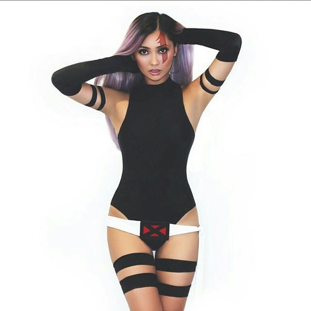 Joanie Brosas Cosplay Girl 002 Psylocke