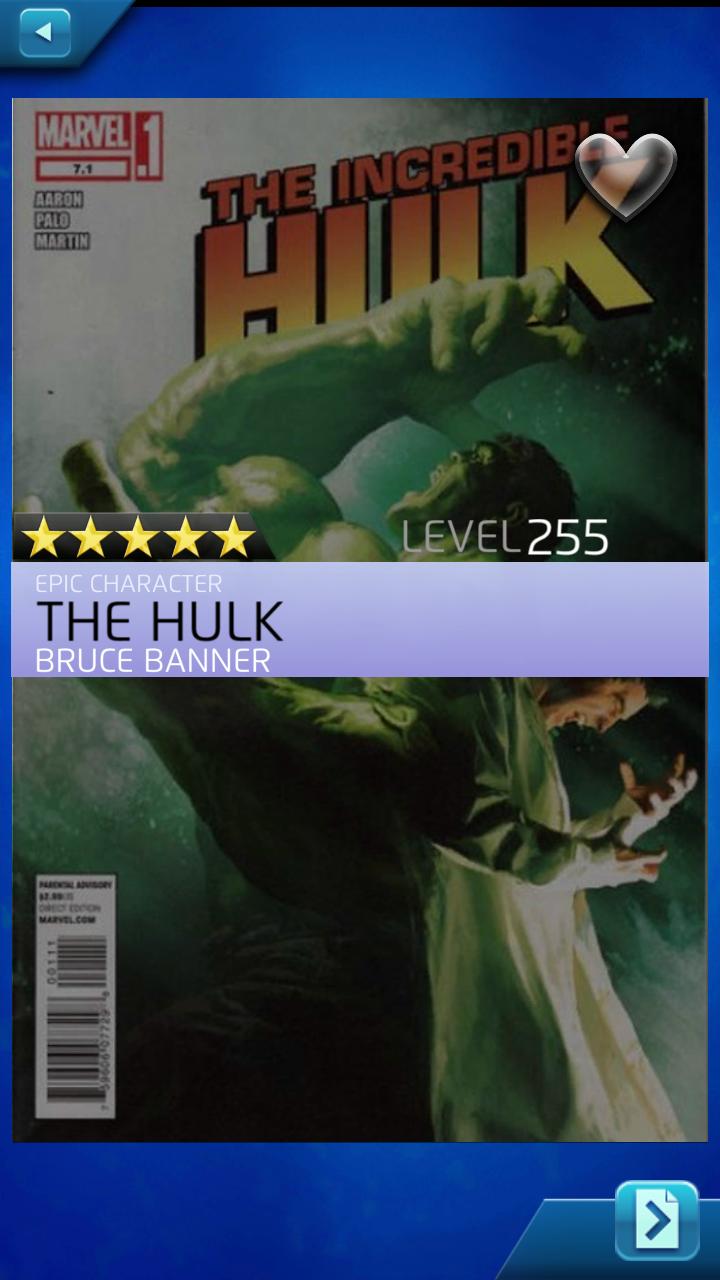 mpq 5 star the hulk  bruce banner