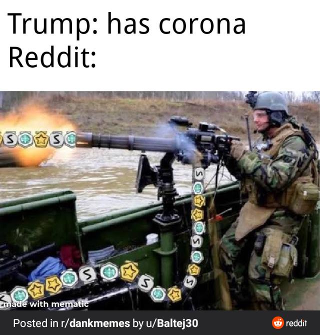 Trump-has-Covid-19-meme-reddit-army-man - Comics And Memes