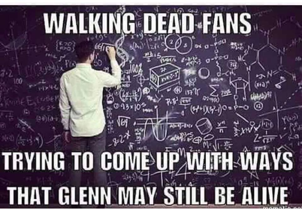 Walking Dead Meme 002 fans glenn may still alive walking dead meme 002 fans glenn may still alive comics and memes