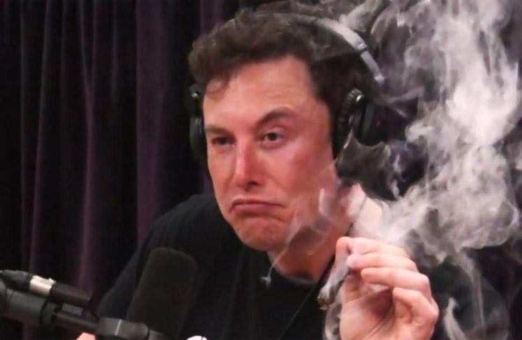 blank meme template 052 Elon Musk smoke thoughts - Comics ...