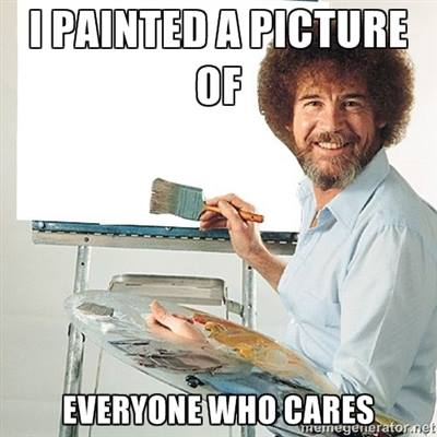 comment reply 030 bob ross painted a picture of who cares