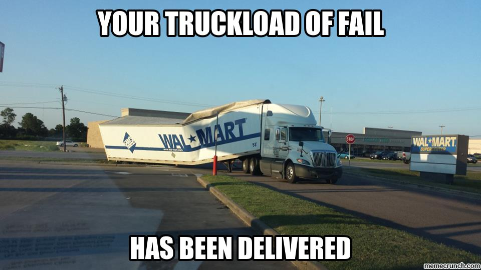 walmart meme 014 truck load of fail comics and memes